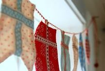 Bunting and Garlands.