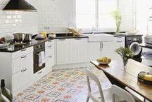 Kitchen and dining / by Katherine Look