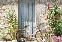 Provence / Provence house, design, landescapes, texture and color