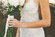 Romantic white / Dress, t shirt, skirt, lace. Loving this