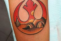 Star Wars tattoos / Cool Star Wars tattoo ideas. Everyone should have one after all.