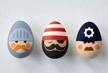 Húsvét / Hímes tojás, húsvéti dekoráció és persze isteni sütireceptek.