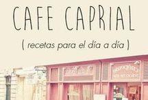 Café Caprial Cocina y Recetas