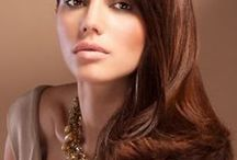Brunettes #sghairdesign / Different Styles & Cuts for Brunettes
