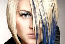 Fashion Colors #sghairdesign / Colours of the rainbow.