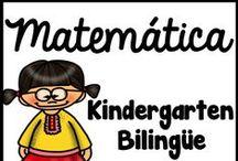 Kindergarten Bilingue Matematicas / En este tablero se encuentra materiales educativos para los números hasta veinte, trazando números, sumas y restas hasta diez, las figuras geométricas, los colores, y manualidades para niños de pre kinder, preescolar y kindergarten.