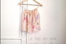 Couture / Sewing / Tutos et inspirations pour coudre des jolies choses