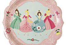 Prinzessinnen Party / Deko-Artikel für die perfekte Prinzessinnen Party und Mädchen Geburtstage