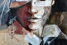 Art - collage / mixed media