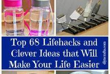 ♡ Handige tips... / Schoonmaak tips en handige weetjes voor in en om het huis