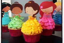Sjove cupcakes