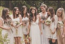 Bohemian Weddingdresses / let yourself inspire - and find YOUR favorite Boho Weddingdress!