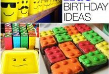 Birthday Ideas!! / Tons of birthday ideas for boys and girls! / by Alida | The Realistic Mama