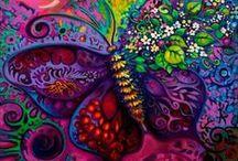 ♡ Schilderen: zentangel, mandala, doodle...