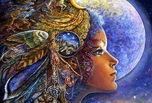 ♡ Josephine Wall Art... / prachtige schilderijen waar je niet op uitgekeken raakt...♥