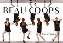 FAST TIMES /  The 11th Beau Coops fashion footwear collection provides us with the right styles to look great, while we're constantly on the move. Think flat, comfort and high style.  Loafers, lace ups and tough city boots come in an array of monochrome, 'earth pop' tones and electric holographics. Boyfriend chic at its best.