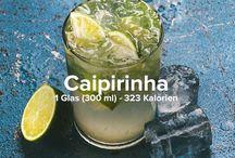 Brasilianische Getränke / Leckere brasilianische Drinks