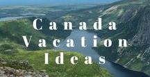 Canada Vacation Ideas / Inspiration for activities & beautiful places to see in Canada. From the lush coast of British Columbia to Atlantic Canada's gems, like Nova Scotia and Newfoundland. This board has all the must-see National Parks, Provincial Parks, unique activities and hikes.