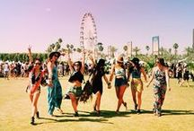 Festival looks / From Coachella vibes to Glastonbury rocks. All cool outfits here.