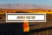 America Road Trip Tips / America Road trip ideas and inspiration - where to go and what to do! Itinerary and route :)