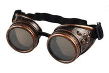 Steampunk Gothic Cosplay Goggles