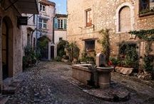 Europe's alleys and side streets  / Take a stroll down cobble stone streets and alleys / by Brian Courtney