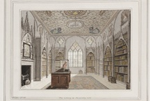Libraries / Images of libraries in the collection of the Lewis Walpole Library. Most are eighteenth-century British.