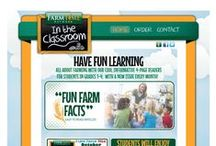 {FarmTime in the Classroom} On the Web / Welcome to FarmTime Classroom website. From here, teachers and homeschool instructors can find contact info, about info and order info.  http://farmtimeclassroom.com/