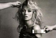 Model : Kate Moss /
