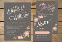 floral (digital) invitation card