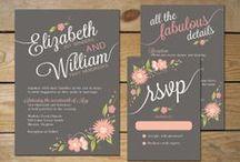 floral (digital) invitation card