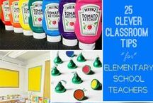 {Teaching Tips n' Tricks} / Everyone needs a tip now and then! Classroom hacks for elementary teachers.