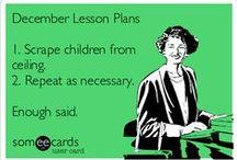 {Teacher Humor} / Comic relief for those who teach :)