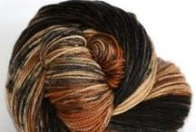 Woof Yarn Collection by Ancient Arts Fibre / Hand-dyed yarns based on the unique and beautiful colours of dogs. A portion of the proceeds of the sale of all Woof Collection Yarns will be donated to benefit stray and abandoned dogs.  http://ancientartsfibre.com/Woof_Yarn_Collection/