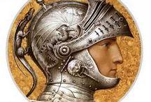 Оружие, форма, шлемы+символы