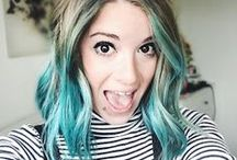 Colourful Hair / Different hair shades that tickle my fancy :) / by KatieLewLa | Beauty & Lifestyle Blogger