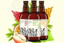 Cider / We've been thinking about Cider... In this stifling summer heat we decided it would be the perfect time to go out on a Cider Safari and check out category brand and design trends. Have a look at our Pinterest finds...