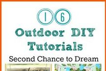 Gardening & Outdoor decorating / by Barb Camp -Second Chance to Dream