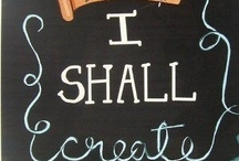 """Create / """"...for we put the thought of all that we love into all that we make"""" ~ J.R.R. Tolkien / by Sandi Noë"""