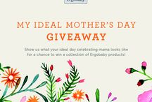 """Happy Mother's Day / Happy Mother's Day from Ergobaby!  You inspire us! {We wanted to share some more of the wonderful """"Ideal Mother's Day boards with you...}"""