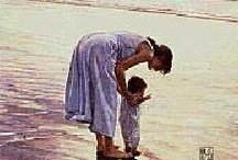 """Motherhood / """"There are too many women who don't see motherhood as a vocation. The word """"vocation"""" comes from the Latin word for voice.  It means a call.  I do believe with all my heart that there is no higher and no holier calling than  motherhood.""""      ~Elizabeth Elliot"""