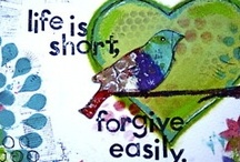 "Forgive / ""Forgiveness is humility- knowing how great the debt of sin you were forgiven of, you likewise forgive. Knowing your own unworthiness when you were forgiven - you don't wait to forgive another. And forgiveness is obedience because it was commanded we forgive others by the Master Himself, who forgave on the us cross in His humiliation and pain.""-Cynthia Barga / by Sandi Noë"