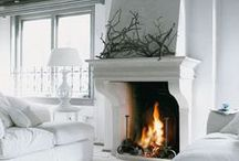 fireplace / fare-pleis n - an open recess in a wall of a room, at the base of a chimney, etc, for a fire; hearth.