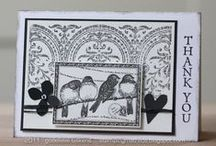 Cards-Black  &  White  / Black & White Cards and Sepia cards or Monotone cards with only a little bit of color to accentuate.
