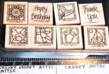 SU Anytime Greetings / These are pinned for ideas to use the Anytime Greetings stamp set by Stampin' Up. For any of these framed cards, use Frame & Flourishes corner stamps to build an additional 'frame' around these cards.