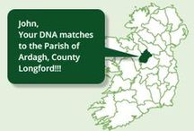 Irish DNA Roots / Trace your Irish Roots via DNA The power of modern science via DNA analysis is a powerful way through which people all over the world can trace where they came from. At Ireland XO, we run a very simple programme to help people locate their parish of origin in Ireland through DNA.