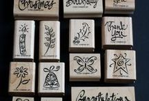 SU A Greeting for All Reasons / Stampin' Up! ©2001 retired in 2004 - set of 14 stamps.
