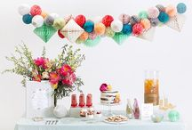 Party Ideas / I love a good party, how about you?