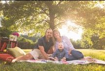 Baby Photo Shoot, Outdoor / Family photo shoot ideas for picnic with 6 month old