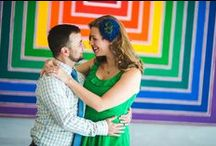 Jason & Diana, National Gallery of Art / Cheerful engagement photo session with Jason and Diana in National Gallery of Art. Photographer - Mantas Kubilinskas. www.mantasphoto.com